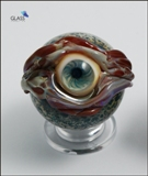 Blue eyeball marble